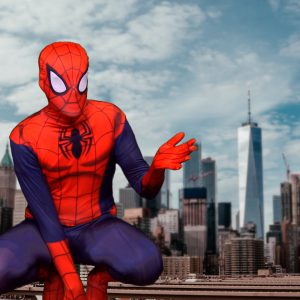 The Spider Hero - personalised superhero video message